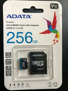 Premier micro SD Card SDXC/SDHC UHS-I Class10 256 GB original High quality