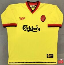 Authentic Vintage Reebok Liverpool 1997-99 Away Jersey. Size XL, Exc Cond.