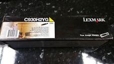 Lexmark C930H2YG - LEXMARK C935 YELLOW TONER CARTRIDGE