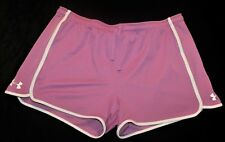 Shorts Under Armour XL Extra Large Pink Polyester