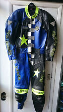 Leather Hein Gericke Motorcycle Two Pieces Riding Suits