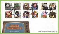 G.B. 2014 Classic Childrens TV set Royal Mail u/a First Day Cover Tallents House
