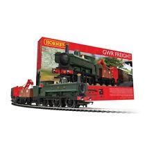 Hornby R1254 GWR Freight Conjunto Tren Analógico Steam Locomotoras 1:76 Peso Oo