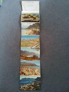 1950's Six Cape Views Letter Postcard.