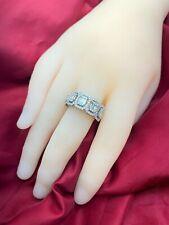 Vintage 14 ct White Gold & 1.4 ct Diamond Ring