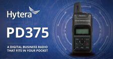 HYTERA PD375 3W DMR UHF/FM DEUX POCHE RADIO BI-DIRECTIONNELLE
