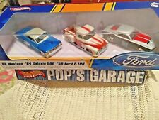Hot Wheels FORD 3 Pack Box 1:50 Scale '68 Mustang '64 Galaxie 500 & F-100 Truck