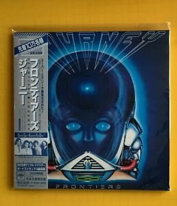 JOURNEY Frontiers REMASTERED JAPAN MINI LP CD NEU MHCP-1172 AOR