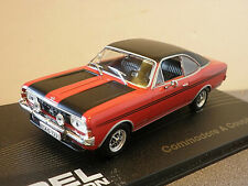 OPEL Commodore A Coupe GS/E in Red 1/43rd Scale