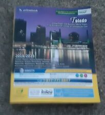 2018-2019 TOLEDO OHIO CITY DIRECTORY-Address-number PHONE BOOK YELLOW PAGES