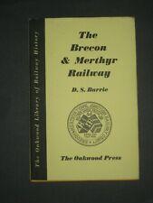 Railwayana- The Brecon & Merthyr Railway by D.S. Barrie, H/Back, Oakwood,1st Ed