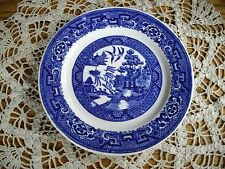 "Vintage Homer Laughlin Blue Willow 7 1/4"" Plate ~"