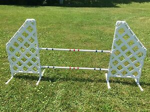 Dog Agility Equipment Wing Jump - Slanted style - FREE US Shipping!