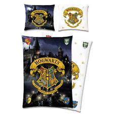 Harry Potter Bettwäsche Hogwarts 135 x 200cm Kinderbettwäsche Bettzeug Bettbezug