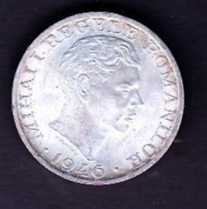 ROMANIA SILVER COIN 25000 LEI , 1946 YEAR
