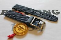 100% Genuine New Breitling Blue Ocean Classic Rubber Tang Buckle Strap 22-20mm