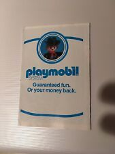 Tres Rare Flyer Leaflet CATALOGUE CATALOG KATALOG PLAYMOBIL 1979 USA (N•2)