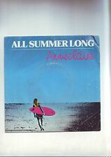 45 tours -- anne claire - all summer long