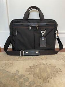 Tumi Nylon / Leather Briefcase - Excellent Condition