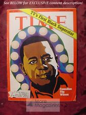 TIME magazine January 31 1972 1/31/72 FLIP WILSON TV'S First Black Superstar +++