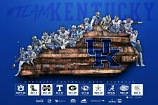 2020 KY University of Kentucky Wildcats Football Schedule/Poster