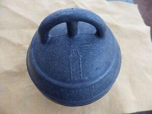 "ALUMINUM 7"" Diameter BUOY Fishing Net-Crab Pot Made in Spain Vintage"