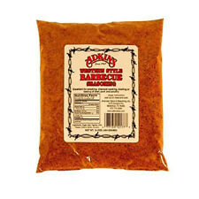 Adkins Western Style Barbecue BBQ Dry Rub Seasoning (16 oz size - Pack of 5)