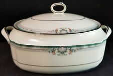 Noritake LYNDENWOOD Oval Covered Vegetable Dish Casserole