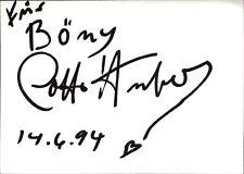 Lotti Huber Sängerin Schauspielerin Tänzerin Original Autogramm Autograph W-7041