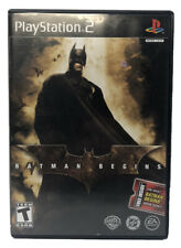 Batman Begins (Sony PlayStation 2, Ps2, 2005) Complete with Manual Cib Tested