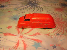 Vintage 1949 TOOTSIE TOY FORD FUEL OIL TANKER TRUCK RED DIECAST