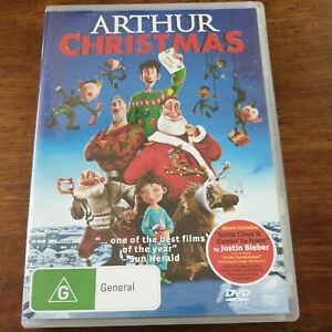Arthur Christmas DVD R4 Like New! FREE POST