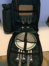 Picnic Backpack | Picnic Basket | Stylish All-in-One Portable Picnic Bag for 2