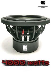 "OE AUDIO 12"" Inch 30cm 4000w Car Subwoofer Driver SPL High Power Subwoofer UK !!"