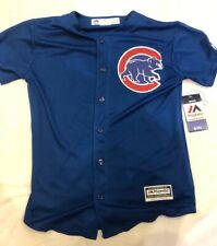 Chicago Cubs Youth Medium Blue Alternate Game  Jersey.
