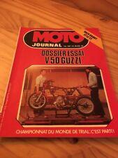 MOTO JOURNAL 1978 Nº 351 Guzzi V50 Mike Grant TT enduro Touquet , Trial Irlanda