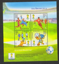 India 2014 MNH Miniatures Stamps FIFA