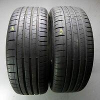 2x Pirelli P Zero AO 255/50 R19 107W DOT 0618 7 mm Sommerreifen