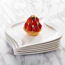 "Malacasa ELVIRA 6-Piece 8.5"" Porcelain Dessert Plates for Home Kitchen"