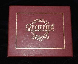 Vintage Western Belt Buckle - Crumrine Gist 50th Anniversary