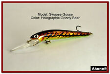 "Akuna Swoose Goose 4.7"" Medium Diving Fishing Lures in Choice of Colors"