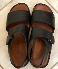 Ladies Black Shoes St. John's Bay Comfortable Open Toe Size 6 M NEW