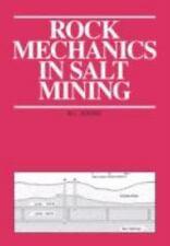 Rock Mechanics in Salt Mining by M. L. Jeremic (1994, Paperback)