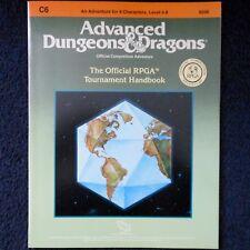 El Manual de torneo oficial Rpga C6 Advanced Dungeons & Dragons módulo 9206