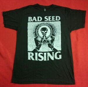 BAD SEED RISING Size M Men's Black T-Shirt