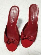 Salvatore Ferragamo Women's Red Sandals
