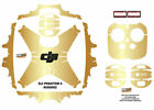 Gold DJI Phantom 4 P4 Skin Wrap Decal Sticker Vinyl Skinz Ultradecal