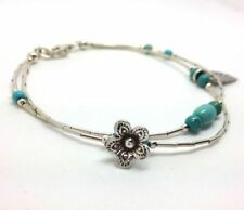 Turquoise Natural Beaded Fine Bracelets
