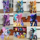 12Pcs/Set Lot of My Little Pony Luna funny Cake Toppers Doll Action Figure Toy