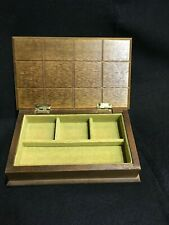 Vintage Wooden Box For Jewelry And Trinkets -8�x5�x2�